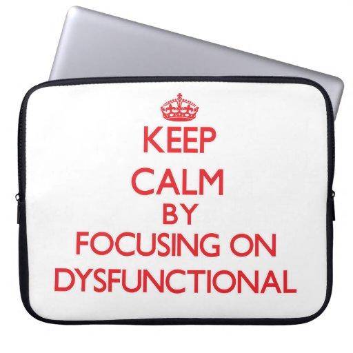 Behalten Sie Ruhe, indem Sie auf dysfunktionelles Laptop Sleeve Schutzhüllen