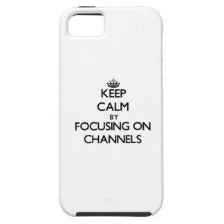 Behalten Sie Ruhe, indem Sie auf Kanäle sich iPhone 5 Schutzhülle