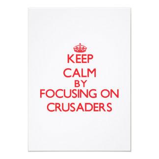 Behalten Sie Ruhe, indem Sie auf Kreuzfahrer sich Personalisierte Ankündigungen