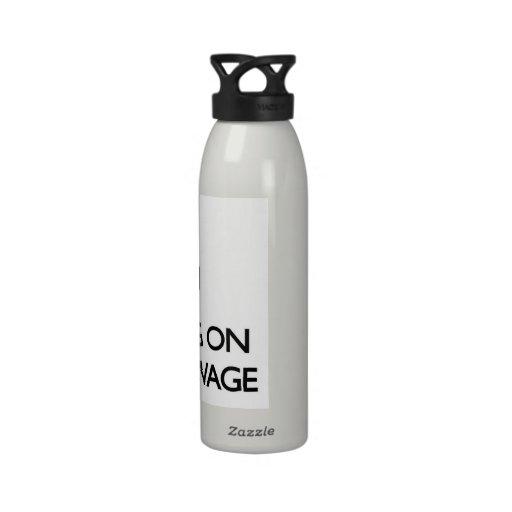 Behalten Sie Ruhe, indem Sie auf Mindestlohn sich Wiederverwendbare Wasserflaschen