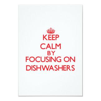 Behalten Sie Ruhe, indem Sie auf Spülmaschinen Personalisierte Einladungen