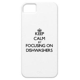 Behalten Sie Ruhe, indem Sie auf Spülmaschinen iPhone 5 Schutzhülle