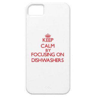 Behalten Sie Ruhe, indem Sie auf Spülmaschinen Hülle Fürs iPhone 5
