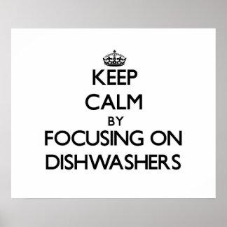 Behalten Sie Ruhe indem Sie auf Spülmaschinen