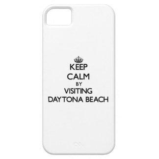 Behalten Sie Ruhe, indem Sie Daytona Beach Florida Etui Fürs iPhone 5