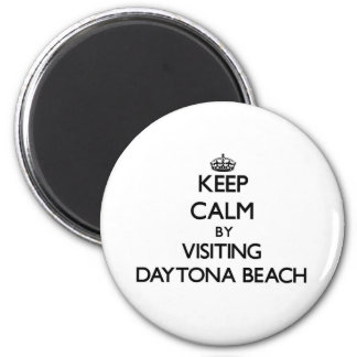Behalten Sie Ruhe, indem Sie Daytona Beach Florida Magnets