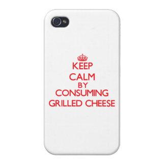 Behalten Sie Ruhe, indem Sie gegrillten Käse Hülle Fürs iPhone 4