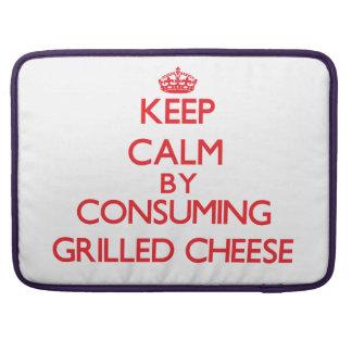 Behalten Sie Ruhe indem Sie gegrillten Käse Sleeve Für MacBooks