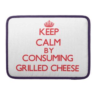 Behalten Sie Ruhe indem Sie gegrillten Käse Sleeve Für MacBook Pro