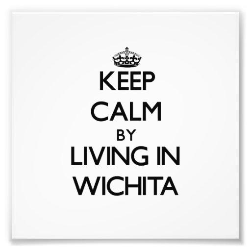Behalten Sie Ruhe, indem Sie in Wichita wohnen Photographie