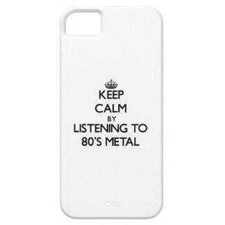 Behalten Sie Ruhe, indem Sie zu Achtzigerjahre iPhone 5 Schutzhüllen
