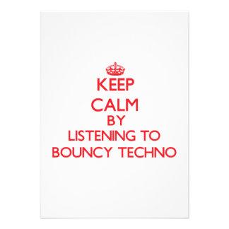 Behalten Sie Ruhe indem Sie zu BOUNCY TECHNO
