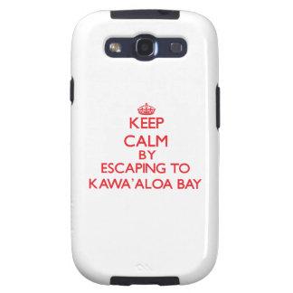 Behalten Sie Ruhe indem Sie zu Kawa Aloa Bucht Samsung Galaxy S3 Schutzhüllen
