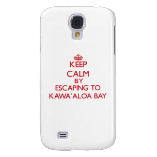 Behalten Sie Ruhe indem Sie zu Kawa Aloa Bucht Galaxy S4 Hülle