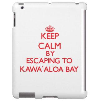 Behalten Sie Ruhe indem Sie zu Kawa Aloa Bucht