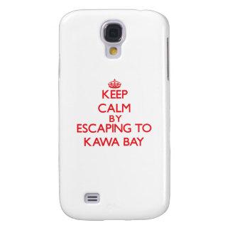 Behalten Sie Ruhe indem Sie zu Kawa Bucht Hawaii Galaxy S4 Hülle