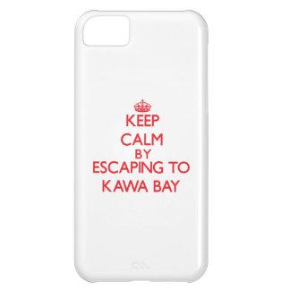 Behalten Sie Ruhe indem Sie zu Kawa Bucht Hawaii iPhone 5C Schale