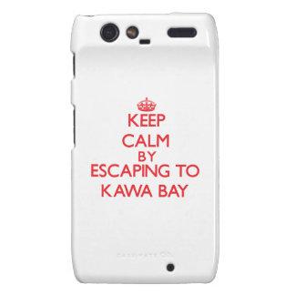Behalten Sie Ruhe indem Sie zu Kawa Bucht Hawaii Droid RAZR Hülle