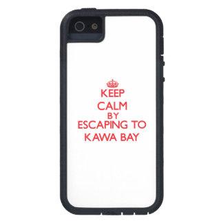 Behalten Sie Ruhe indem Sie zu Kawa Bucht Hawaii iPhone 5 Schutzhüllen