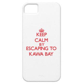 Behalten Sie Ruhe indem Sie zu Kawa Bucht Hawaii iPhone 5 Etuis