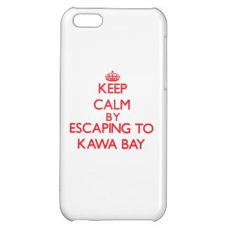 Behalten Sie Ruhe indem Sie zu Kawa Bucht Hawaii iPhone 5C Hüllen