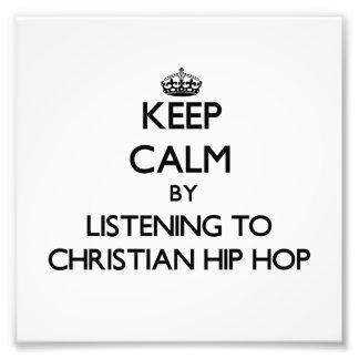 Behalten Sie Ruhe indem Sie zum CHRISTLICHEN