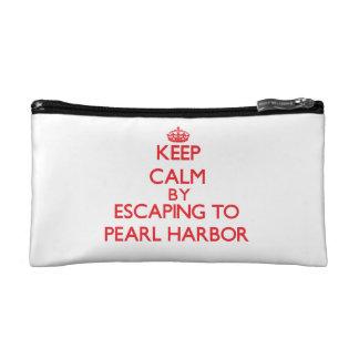 Behalten Sie Ruhe, indem Sie zum Pearl Harbor