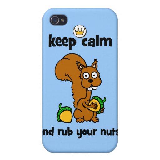 behalten Sie Ruhe iPhone 4 Schutzhülle