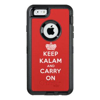 Behalten Sie Ruhe/Kalam iPhone 6 Otterbox Fall OtterBox iPhone 6/6s Hülle