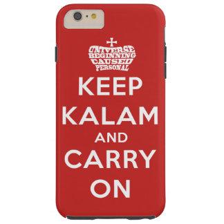 Behalten Sie Ruhe/Kalam starke iPhone 6 Plusfall Tough iPhone 6 Plus Hülle