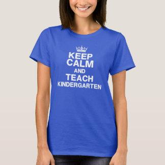 Behalten Sie Ruhe, Kindergarten-T - Shirt zu