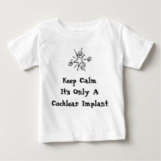 Behalten Sie Ruhe - Säuglingsgrößen Baby T-shirt