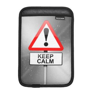 Behalten Sie Ruhe Sleeve Für iPad Mini