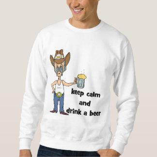 behalten Sie Ruhe Sweatshirt