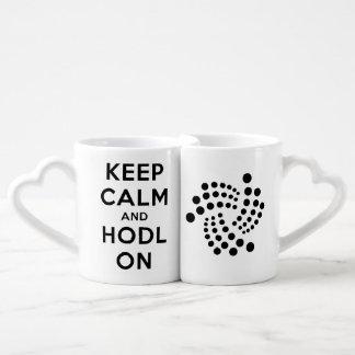 Behalten Sie Ruhe u. HODL Iota, zusammen Tasse zu