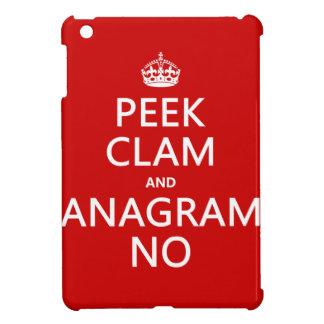 Behalten Sie Ruhe und Anagramm auf (in irgendeiner iPad Mini Hülle