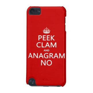 Behalten Sie Ruhe und Anagramm auf (in irgendeiner iPod Touch 5G Hülle