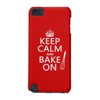 Behalten Sie Ruhe und backen Sie an iPod Touch 5G Hülle