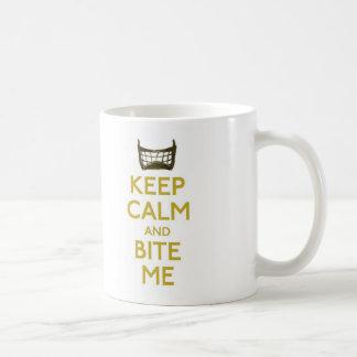 behalten Sie Ruhe und beißen Sie mich (Netto) Kaffeetasse