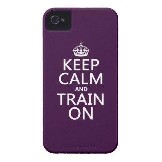 Behalten Sie Ruhe und bilden Sie auf aus Case-Mate iPhone 4 Hülle