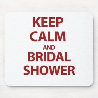 Behalten Sie Ruhe und Brautparty! Mauspad