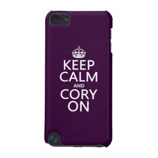 Behalten Sie Ruhe und Cory auf (irgendeine Farbe) iPod Touch 5G Hülle