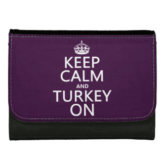 Behalten Sie Ruhe und die Türkei auf (Weihnachten)