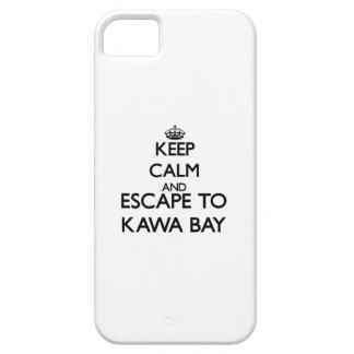 Behalten Sie Ruhe und entgehen Sie zu Kawa Bucht iPhone 5 Schutzhülle