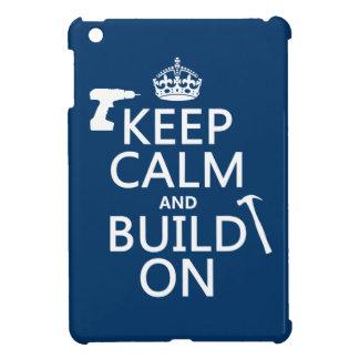 Behalten Sie Ruhe und errichten Sie auf iPad Mini Hülle