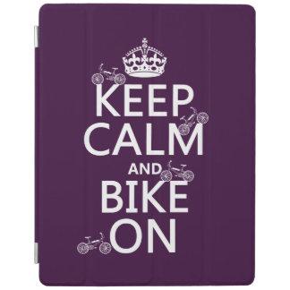 Behalten Sie Ruhe und Fahrrad auf (kundengerechte iPad Smart Cover