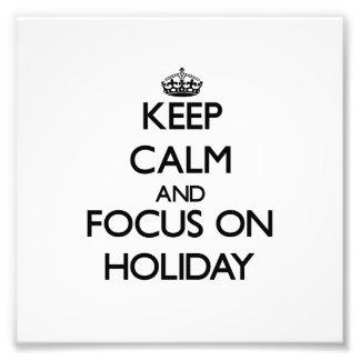 Behalten Sie Ruhe und Fokus am Feiertag Kunstfotos