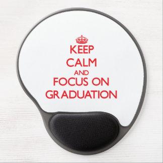 Behalten Sie Ruhe und Fokus auf Abschluss