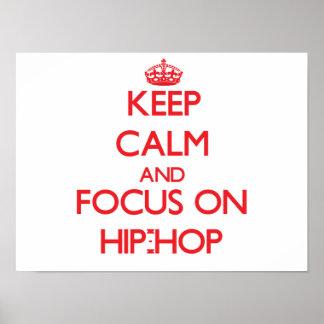 Behalten Sie Ruhe und Fokus auf Angesagt-Hopfen
