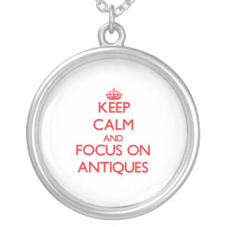 Behalten Sie Ruhe und Fokus auf ANTIKEN
